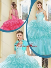 Luxurious Zipper Up Quinceanera Dresses with Beading SJQDDT236002FOR