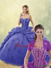 New Arrivals 2016 Sweetheart Quinceanera Gowns with Brush Train SJQDDT191002-6FOR