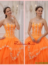 New Ball Gown Appliques and Beading Sweet 15 Dresses for 2016  QDZY311BFOR