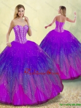 New Style Ball Gown Sweet 16 Dresses in Multi Color for 2016 SJQDDT187002-6FOR