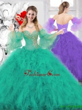 New Style Ball Gown Sweetheart Quinceanera Dresses SJQDDT136002FOR