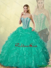New Style Sweetheart Quinceanera Dresses with Floor Length SJQDDT186002-8FOR