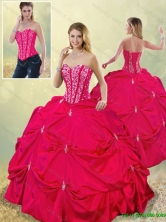 Perfect Sweetheart Beading Quinceanera Gowns in Hot Pink  SJQDDT185002-1FOR