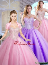 Perfect Sweetheart Quinceanera Dresses Beading and Sequins SJQDDT155002FOR