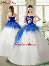Popular Sweetheart Beading Quinceanera Gowns with Zipper Up YCQD020FOR