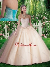 Simple Beading Quinceanera Dresses for 16 brithday Party SJQDDT305002FOR