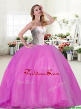 Wonderful Beaded Really Puffy Quinceanera Dress in Hot Pink YYPJ030-2FOR