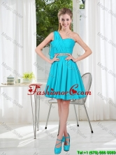 Beautiful A Line One Shoulder Dama Dresses for Party BMT001A-7FOR