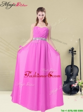 Gorgeous Empire Sweetheart Dama Dresses with Ruching and Belt BMT008-2FFOR