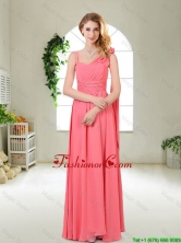 Luxurious Asymmetrical Dama Dresses in Watermelon Red BMT055EFOR
