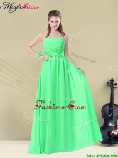 Wonderful Empire Sweetheart Dama Dresses with Ruching and Belt BMT008-12CFOR