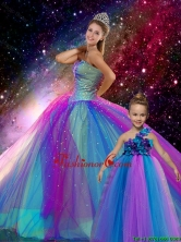 2016 Spring Classical Ball Gown Sweetheart Multi Color Matching Sister Dresses with Beading XFQD006A-LGFOR