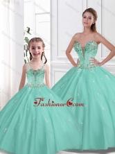 2016 Spring Pretty Ball Gown Beading Macthing Sister Dresses  SJQDDT107002-LGFOR
