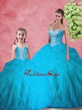 Latest Ball Gown Sweetheart Macthing Sister Dresses with Beading for Summer SJQDDT104002-LGFOR