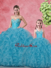 Summer Luxurious Ball Gown Sweetheart Macthing Sister Dresses SJQDDT100002-LGFOR
