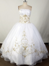 2012 Brand New Ball Gown Strapless Floor-Length Quinceanera Dresses Style JP42683