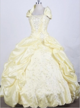 2012 Pretty Ball Gown Square Neck Floor-Length Quinceanera Dresses Style JP42623
