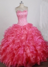 2012 Unique Ball Gown Sweetheart Floor-Length Quinceanera Dresses Style JP42672