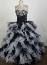 2012 Unique Ball Gown Sweetheart Floor-Length Quinceanera Dresses Style JP42675