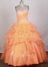2012 Unique Ball Gown Sweetheart   Neck Floor-Length Quinceanera   Dresses Style JP42613