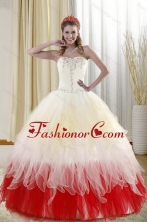 2015 Best Affordable Sweetheart Quinceanera Dresses with Beading XFNAOA11TZFXFOR