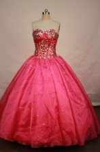 Beautiful Ball gown Sweetheart-neck Floor-length Quinceanera Dresses Style FA-W-128