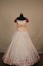 Exquisite Ball gown Strap Floor-length Quinceanera Dresses Style FA-W-016
