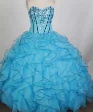 Gorgeous Ball Gown Sweetheart Floor-length Quinceanera Dress ZQ1242601