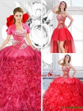 Pretty Sweetheart Detachable Quinceanera Dresses with RufflesSJQDDT126001FOR