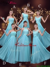 2016 Cheap Empire Aqua Blue Prom Dresses BMT069FOR