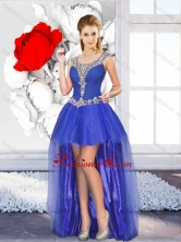 Exclusive High Low Prom Dresses with Beading for Graduation SJQDDT130004FOR