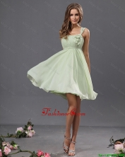 Fashionable Straps Short Prom Gowns with Appliques DBEE516FOR