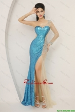 Luxurious Sequined Multi Color Prom Dresses with Long Sleeve DBEE510FOR
