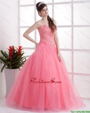 New Arrivals A Line Sweetheart Prom Dresses in Watermelon DBEE506FOR