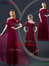 Perfect Empire Appliques Prom Dresses with Asymmetrical YCPD022FOR