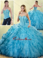 Pretty Sweetheart Ball Gown Detachable Quinceanera Dresses with Beading SJQDDT201002-1FOR