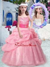 Best Spaghetti Straps Mini Quinceanera Dresses with Beading and Bubles PAG269FOR