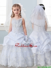 Best Spaghetti Straps Mini Quinceanera Dresses with Lace and Pick Ups THLG007FOR