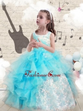 Fashionable Appliques and Ruffles  Mini Quinceanera Dresses for 2016 FA5GY78MTFOR