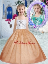 Pretty Spaghetti Straps Mini Quinceanera Dresses with Beading PAG247FOR